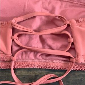 Xhilaration Swim - Burnt Orange Knit Bathing Suit